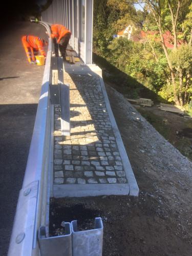 Most 1/35 Doubí u Liberce - dokončovací práce